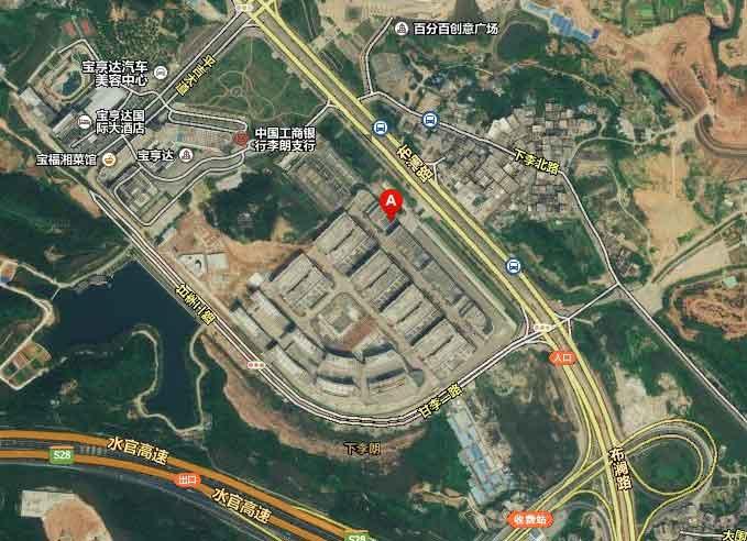 交通地图:深圳市龙岗区南湾街道布澜路31号李朗软件